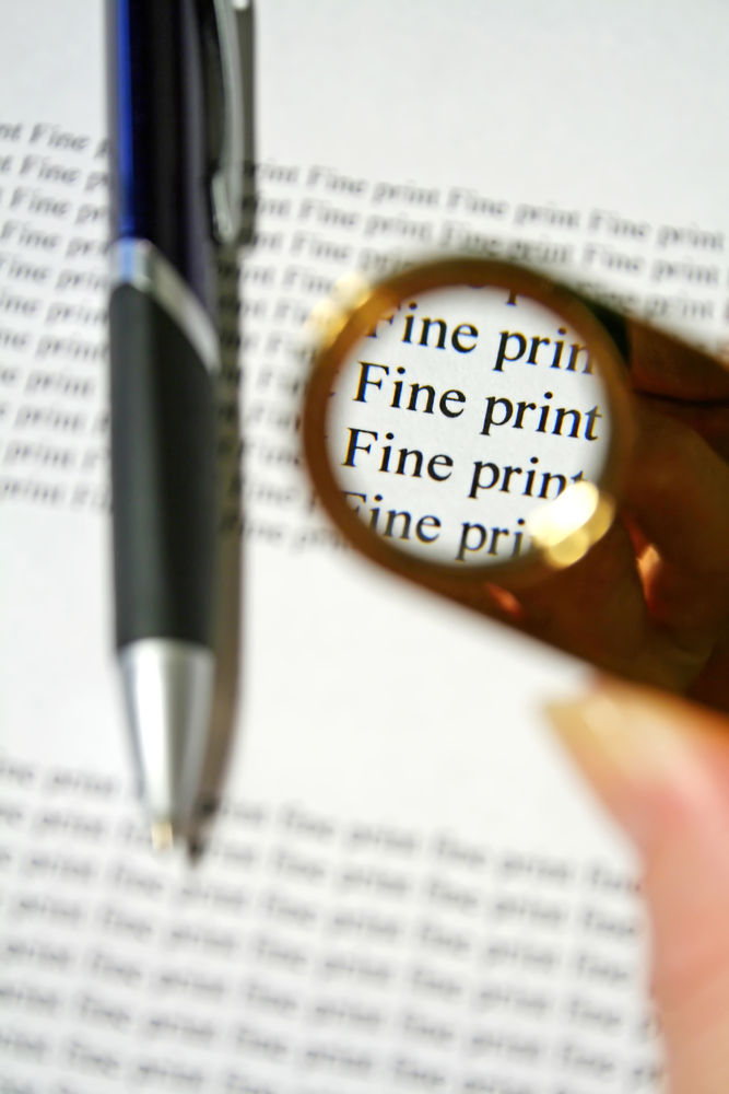 fine print online privacy