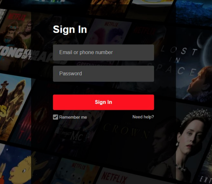 changing your netflix