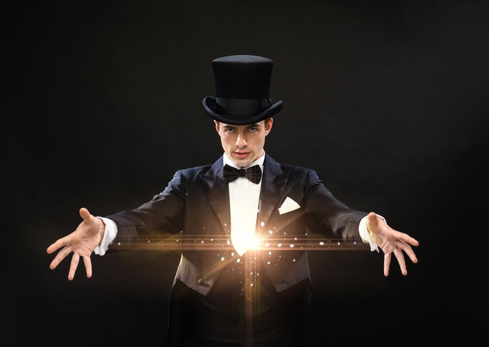 magic trick man