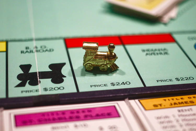 monopoly-board-with-train-token