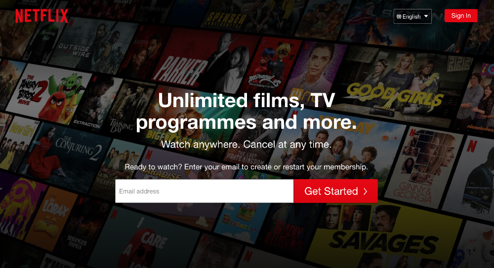 how to get american netflix in canada steps log in
