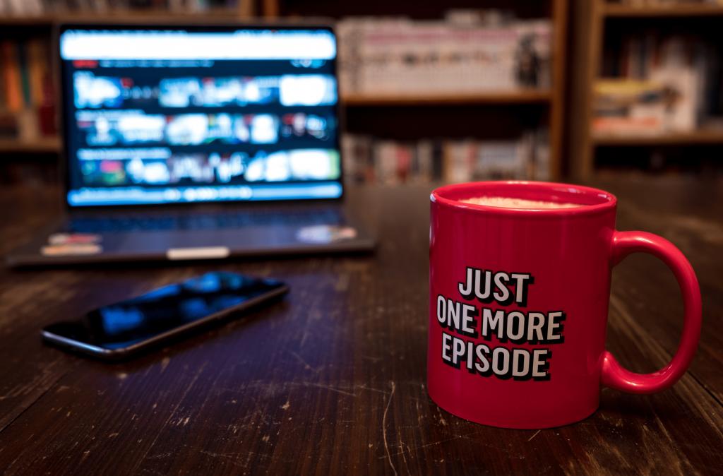 mug reading just one more episode