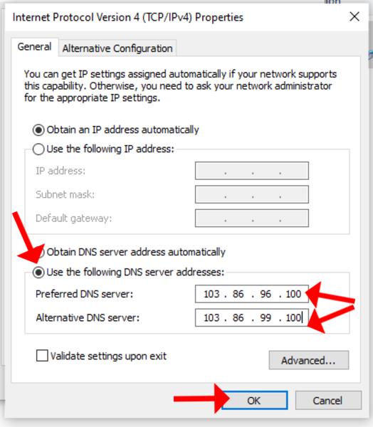 trouble shooting nordvpn netflix dns windows add servers