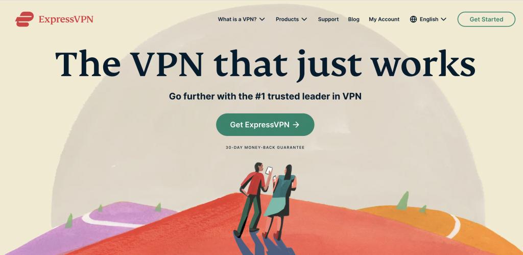 ExpressVPN new design