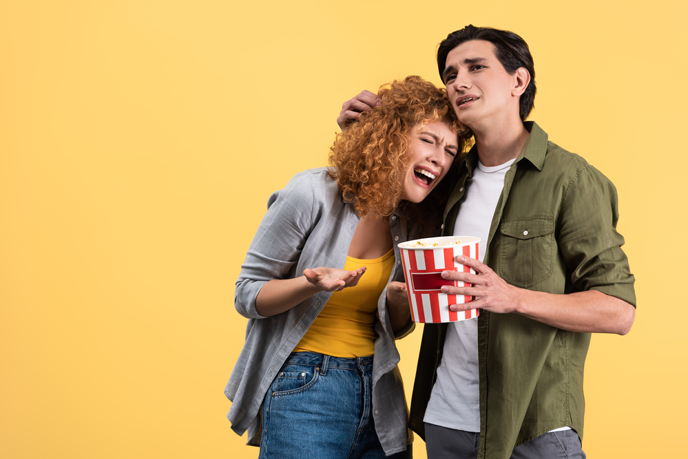 watch netflix with expressvpn crying into popcorn