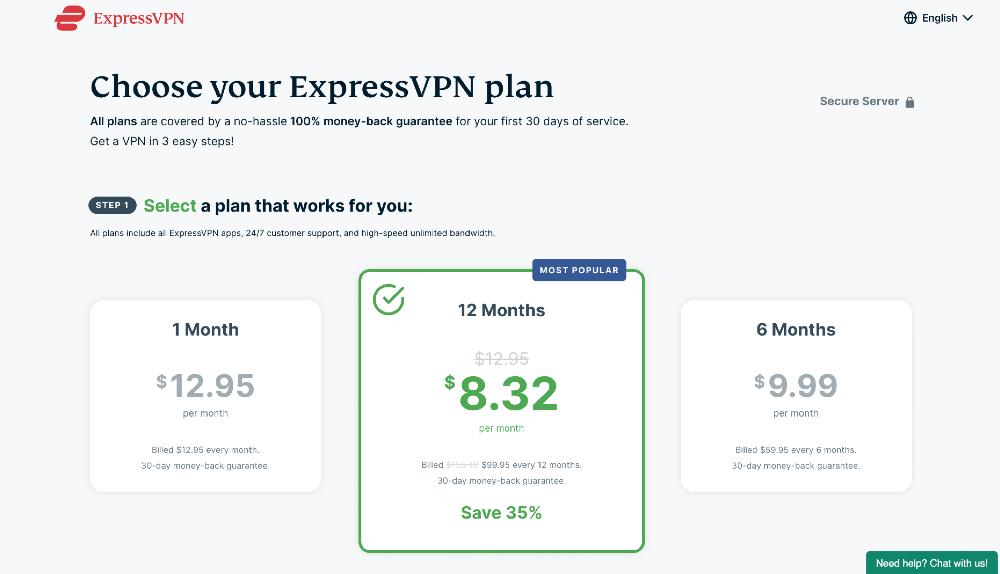 watch netflix with expressvpn plans