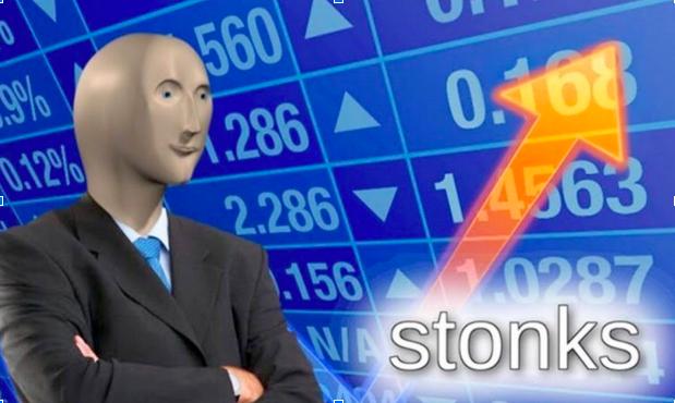 stonks meme image