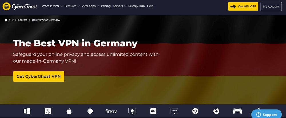cyberghost germany